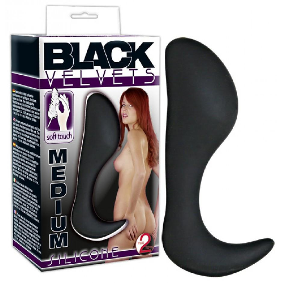 Black - Analplugg Medium