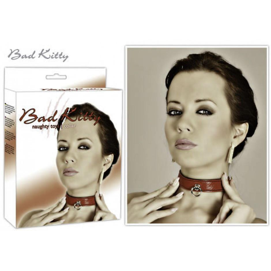 Bad Kitty Collar Red
