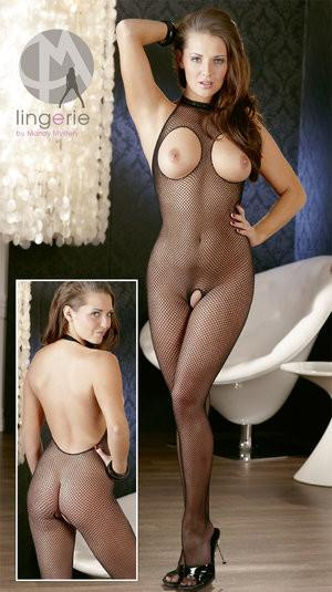 Open Net Bodystocking