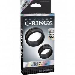 C-ringz Max Width Silicone Rings (1...