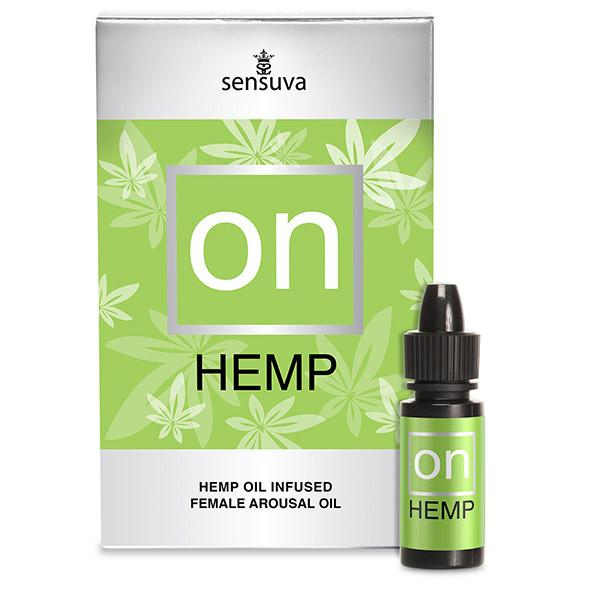 Sensuva On - Hemp Oil Infused Arous...