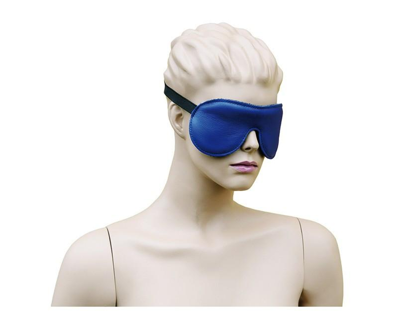 Eyemask Leather - Blue